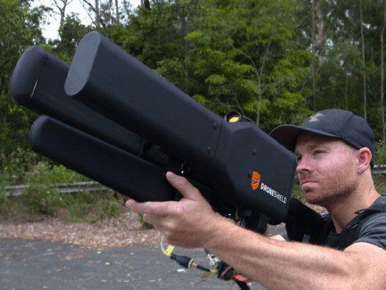 Arma anti-drones pode derrubar pequenas aeronaves a até 2 km de distância - EExpoNews