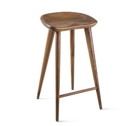 Taburet - A  Counter stool  FSC-certified American walnut or white oak   Organic Modernism