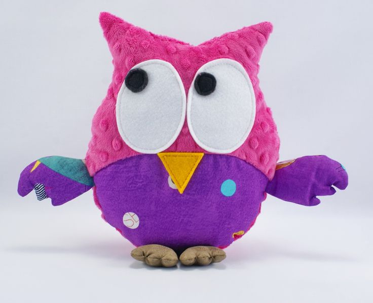 #dots #owl #pink #forkids #kids #handmade #littlesophie Buy it now on www.littlesophie.pl