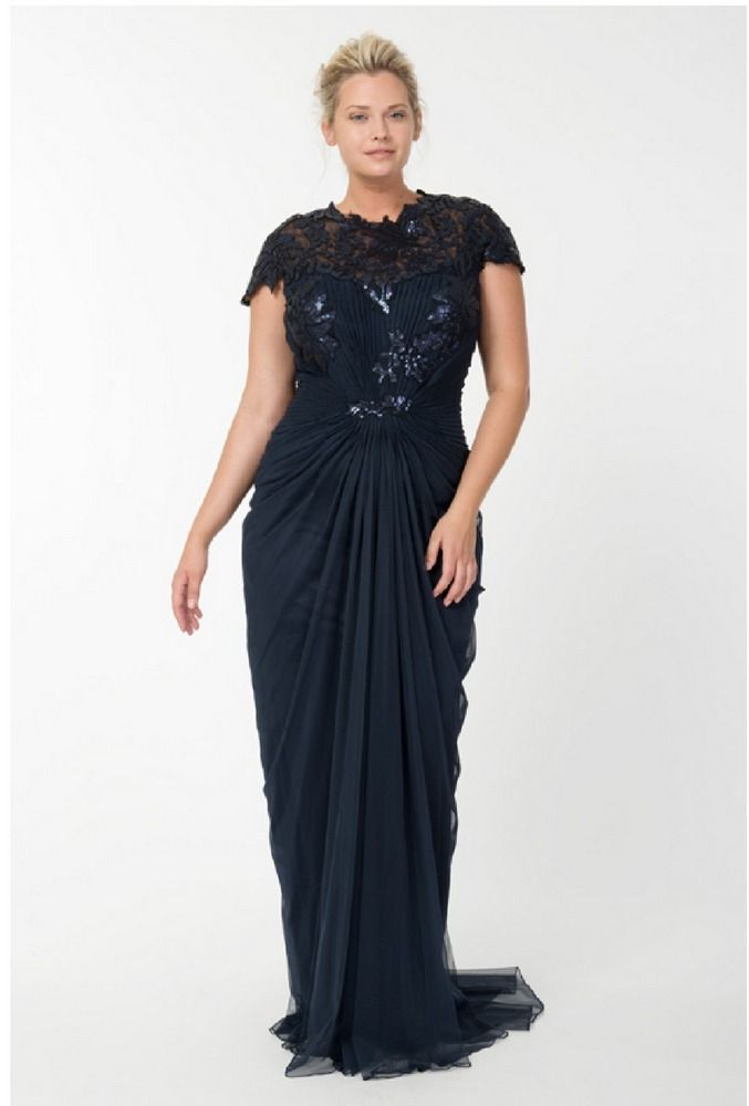 Tadashi Plus Size Formal Dresses | First Look: Tadashi Shoji Plus Size Holiday Collection