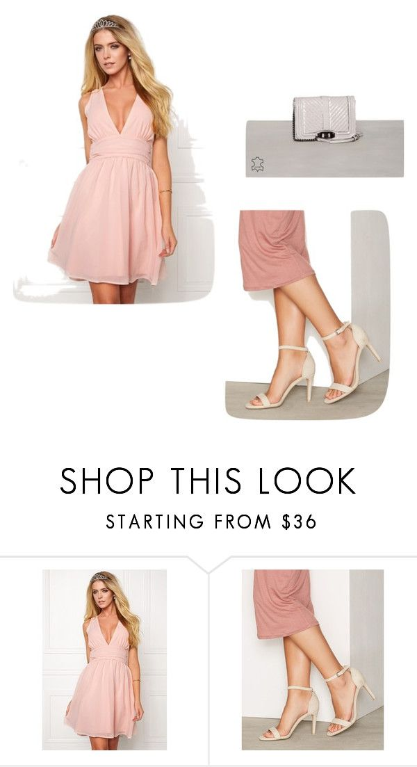 """dress"" by beccahyllander on Polyvore featuring Nly Shoes"