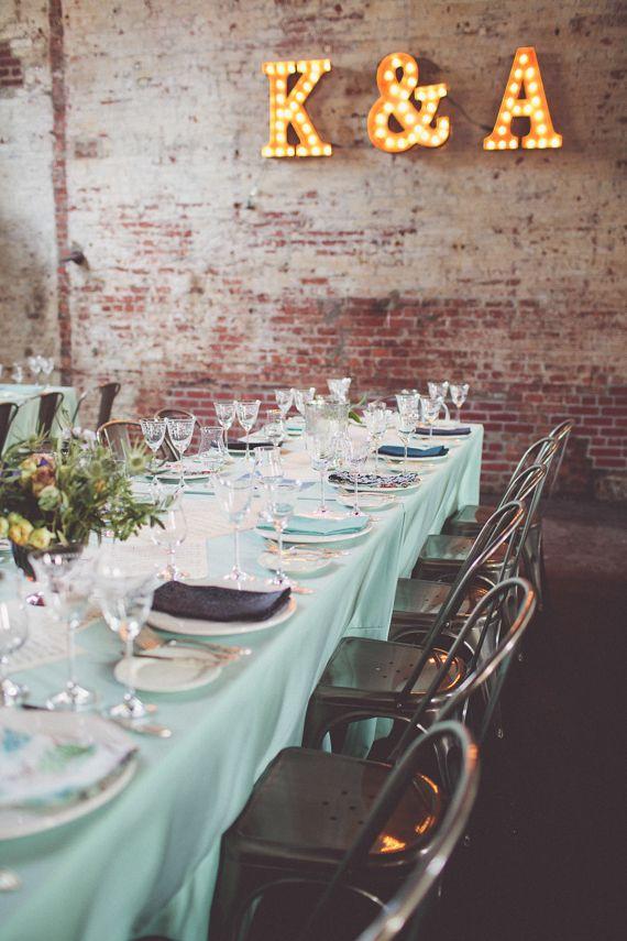 Speakeasy themed Brooklyn wedding | photo by Chris Spira Photography | 100 Layer Cake