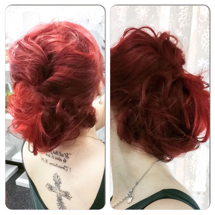 Updo! By me, on me.