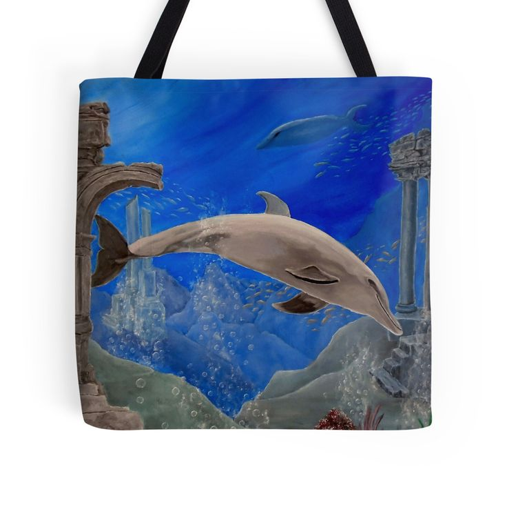 Gifts for animal, dolphins, lovers,Tote Bag