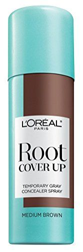 Loreal Root Cover Up Spray Medium Brown 2oz (2 Pack) L'Or...