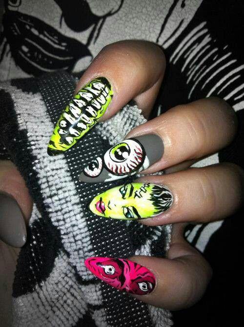 Iron fist zombie nails