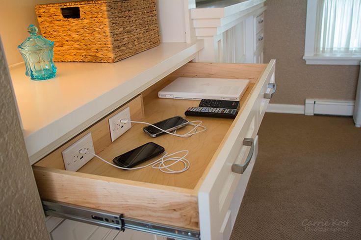 drawer charging station?