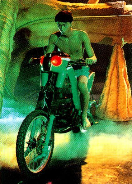 Minami Kotaro on Kamen Rider Black, 1987