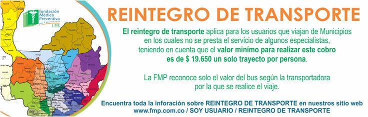 REINTEGRO DE TRANSPORTE