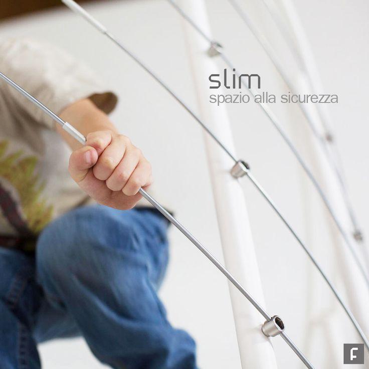 Scala a chiocciola Slim - Fontanot Accurata in ogni dettaglio