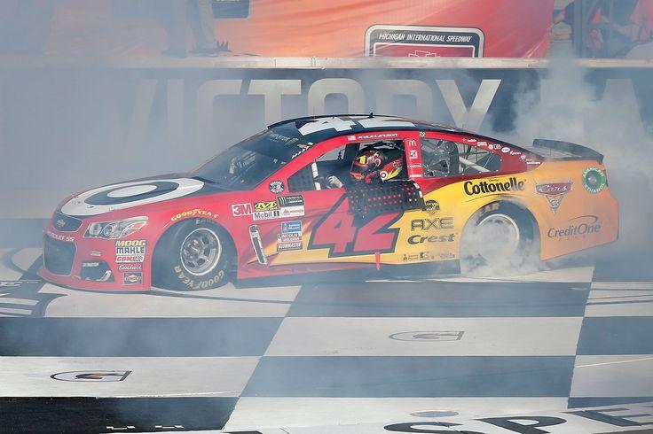 NASCAR Michigan 2017 resultados: Kyle Larson gana FireKeepers Casino 400