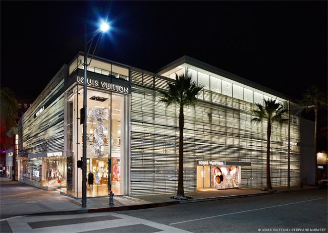 Architect Peter Marino Designed Louis Vuittons Rodeo Drive Maison In Beverly Hills California