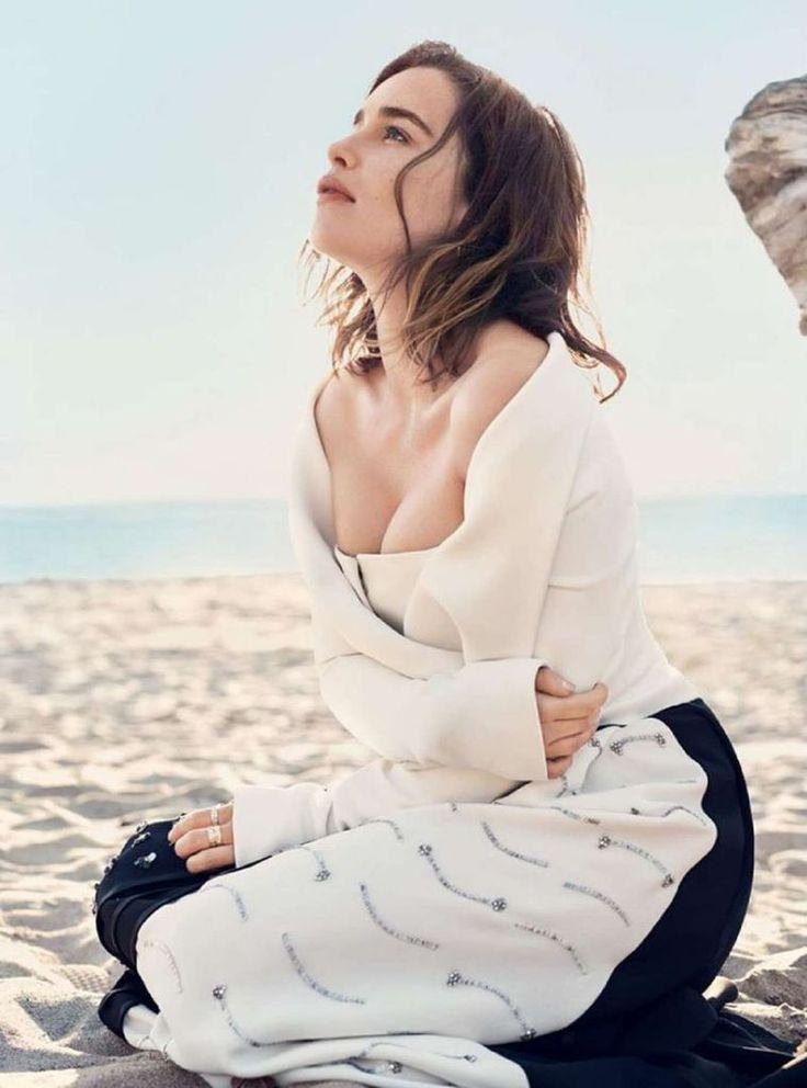 Emilia Clarke – Harper's Bazaar Magazine, July 2016 : Global Celebrtities (F) FunFunky.com