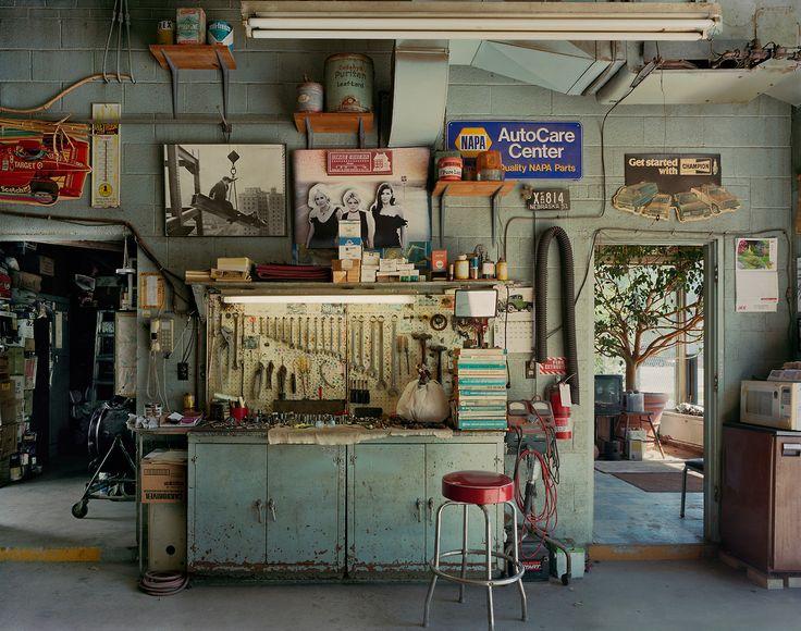 "fishstickmonkey:  ""A-1 Auto Garage."" Douglas County, 2011. - Andrew Moore"