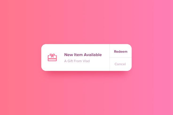 Gift Notification Widget : Cerpow