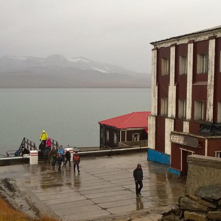 Syysretki Huippuvuorille, Barentsburg