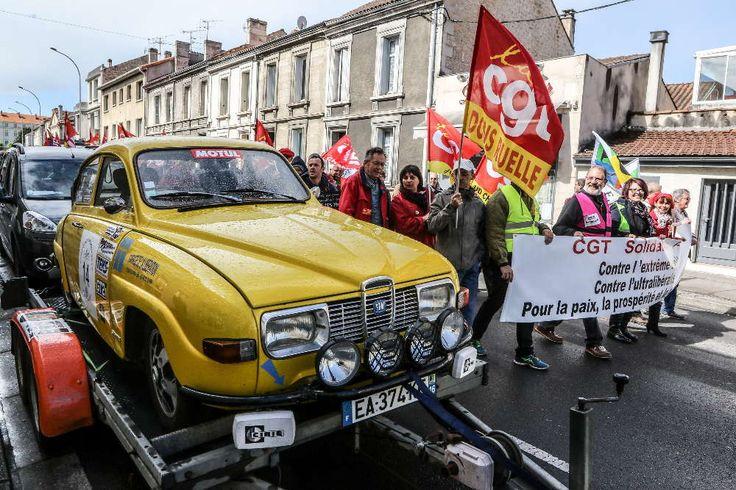 """1er mai : 700 personnes à Angoulême """"contre l'extrême-droite et l'ultra-libéralisme"""" [Diaporama]"""