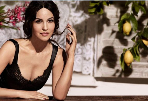 Dolce & Gabbana Inspired by Monica Bellucci for New Makeup Line - Harper's Bazaar
