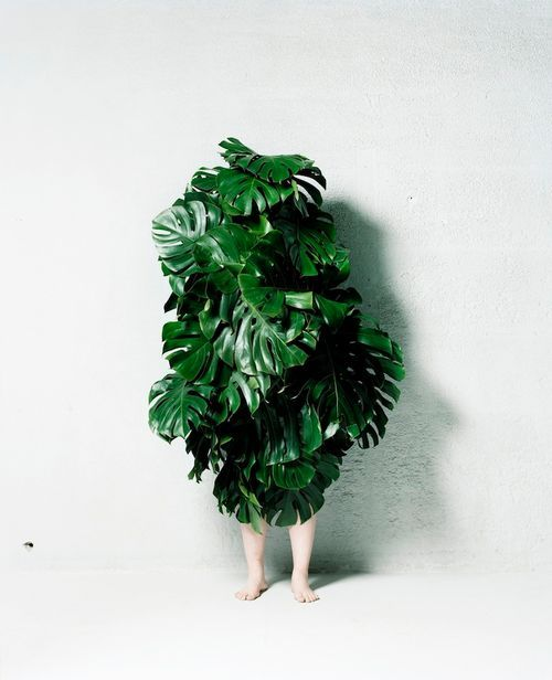 Blogpost by Anne van Midden/Inspire Styling for urbans and indians | Go Green | Spring Fashion | Azuma Makoto, Leaf Man, 2011