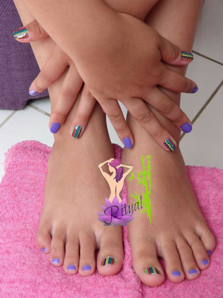 Manicure y Pedicure estilo Étnico