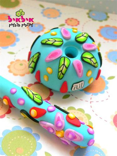 Polymer clay pen   Flickr - Photo Sharing!