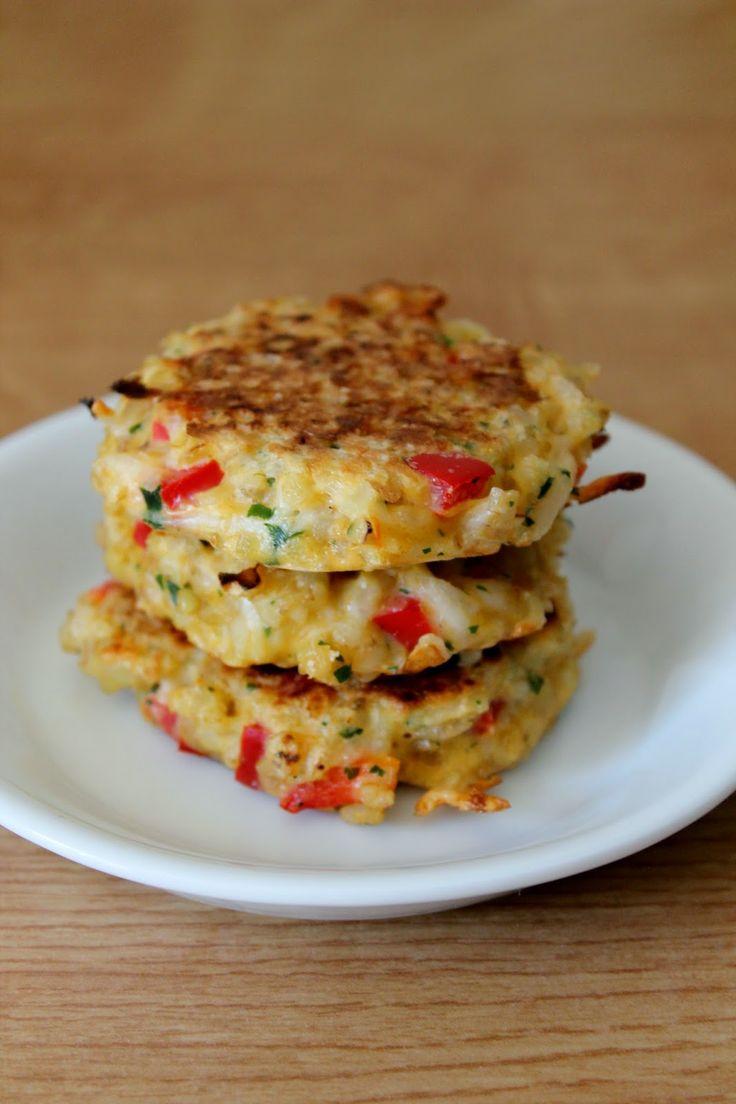Galettes poivrons boulgour #vegeterian #food #healthy
