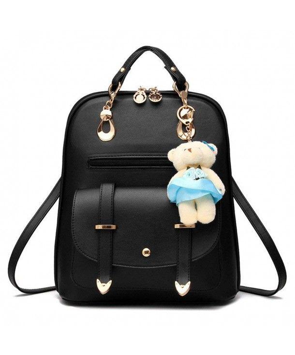 6b27bffc4a0d Women s Summer Cute Korean Leather Student Bag Backpack Shoulder Bag ...