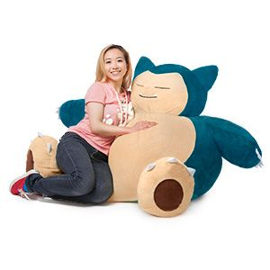 Pokemon Snorlax Bean Bag Chair | ThinkGeek.com