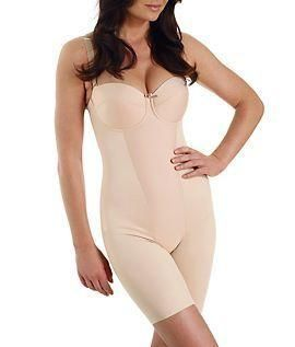 Style Number:2791. Extra Firm Control Thigh Slimming Body Briefer with Wonderful Edge Extra-firm control, mid-thigh slimming bodybriefer, Stretch microfiber. Shapes midriff, tummy, hips,... More Details