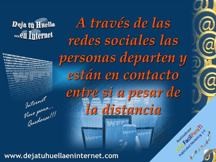 Las redes sociales son lugares para encuentros de personas con interéses comunes