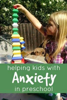 Helping Kids with Anxiety in Preschool