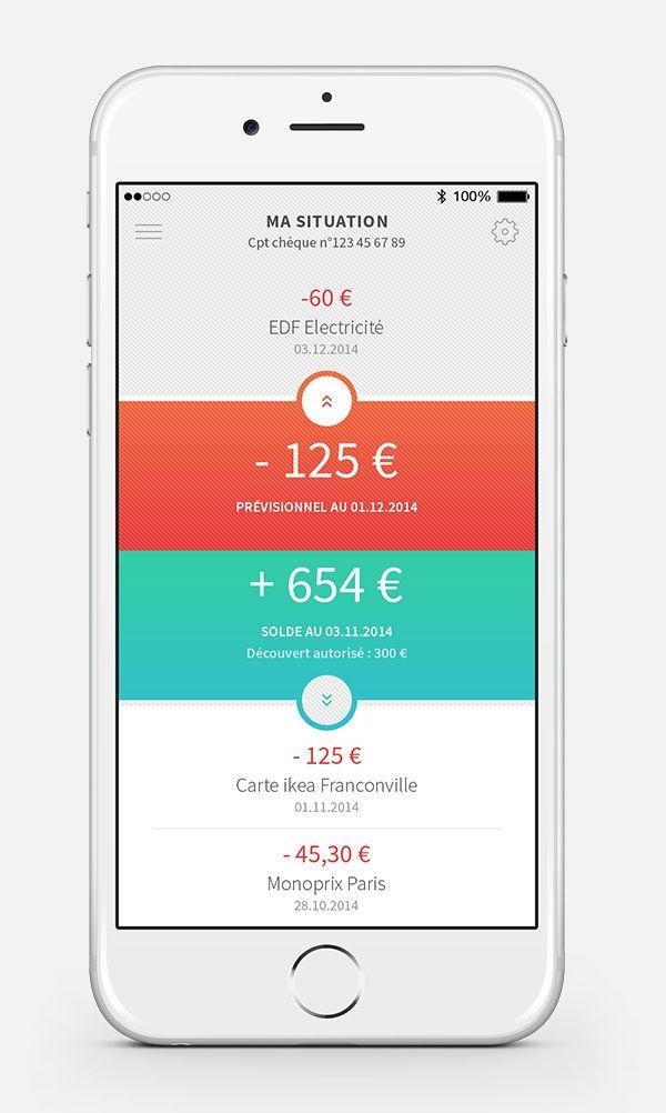 Howizi, La Caisse d'Epargne on App Design Served