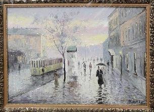 Питер - Городской пейзаж <- Картины маслом <- Картины - Каталог | Универсальный интернет-магазин подарков и сувениров