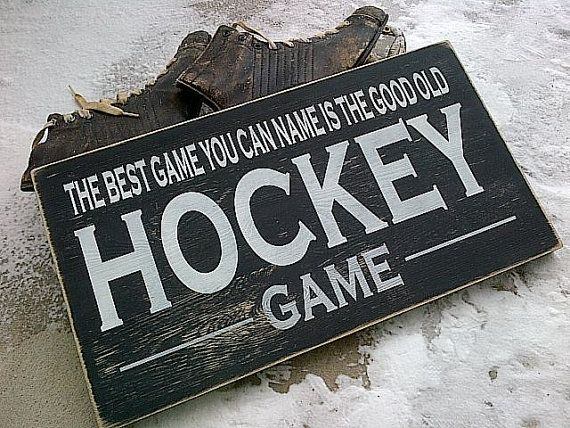 The best game you can name is the good old HOCKEY by dressingroom5