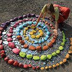 The Sky Pit from The Plastic Fantastic art installation 2014.  Flair Robinson por Flair Robinson Studio