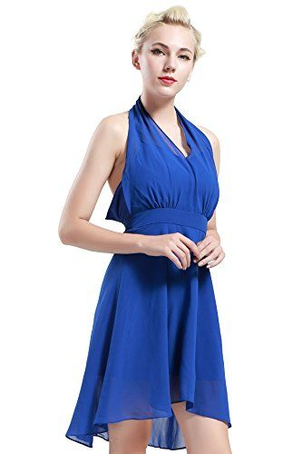 New BABEYOND Women's 50s 60s Cocktail Gown Swing Sleeveless Bridesmaid Causal Summer Party Prom Halter Dress online. Perfect on the Belle Poque Dresses from top store. Sku zoku69311seuj44514