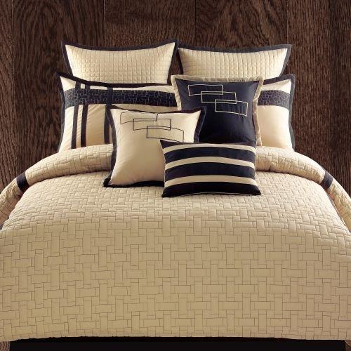 Cream Amp Navy Blue Bedding Home Sweet Home Pinterest