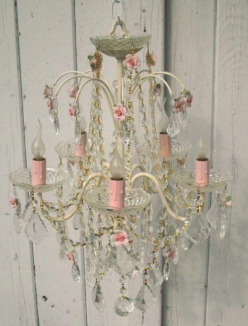 gorgeous #shabby #chandelier