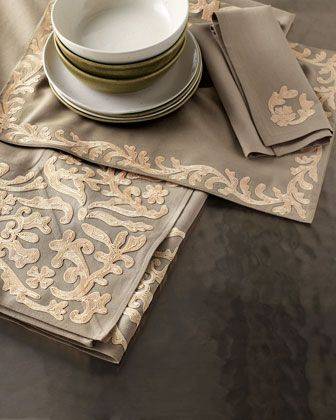"""Dori"" Table Linens - Neiman Marcus"
