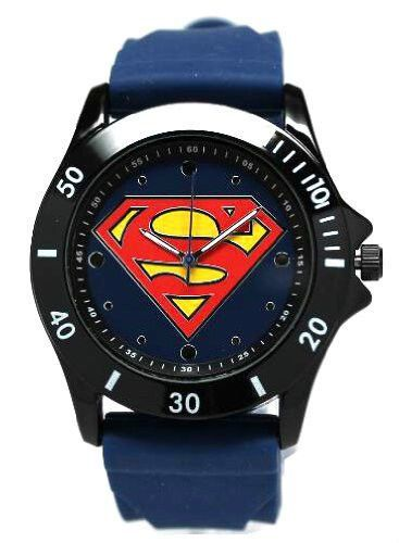 Superman Watch (Blue - SUP9034) @ niftywarehouse.com