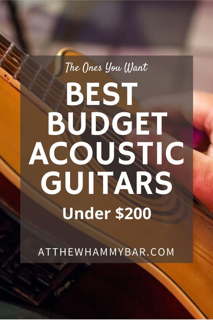 Best Budget Acoustic Guitars Best Acoustic Guitar Yamaha Guitar Acoustic Guitar