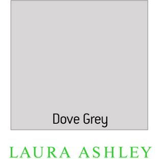 Laura Ashley Dove Grey Matt Emulsion Eggshell Paint - 0.75L from Homebase.co.uk