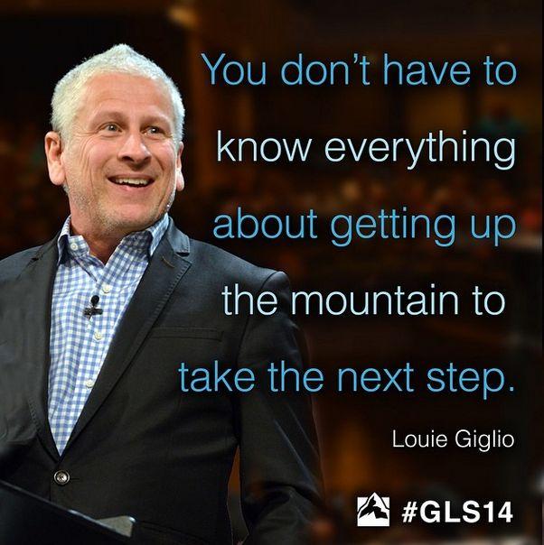 Louis Giglio GSL2014 Instagram: @wcagls #GLS14