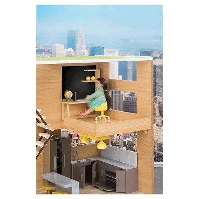 Lori Dollhouse Furniture -Terrace Set