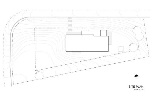 510 Cabin,Site Plan