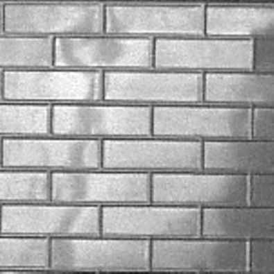 "If you want the appearance of bricks for a low cost then we offer the aluminium ""Bricks"" panel.  Since being featured on a TV show this design has sold well for splash backs.  http://www.heritageceilings.com.au/tempat/bricks.php"