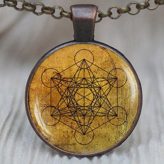 Metatron 39 s cube pendant sacred geometry jewelry for Metatron s cube jewelry