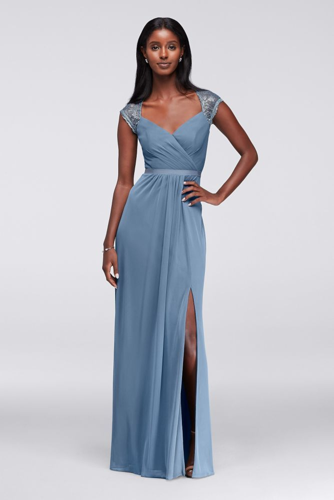 Steel Blue Bridesmaid Dresses | www.pixshark.com - Images ...