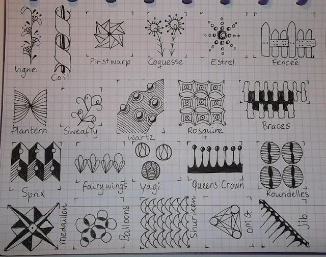 Drawing Practice The Inner World: Tangle patternsTekenpraktijk De, Doodles Pattern, De Innerlijk, Drawing Practice, Zendoodle Pattern, Innerlijk Wereld, Tangled Patronen, Tangled Pattern, Zentangle Pattern