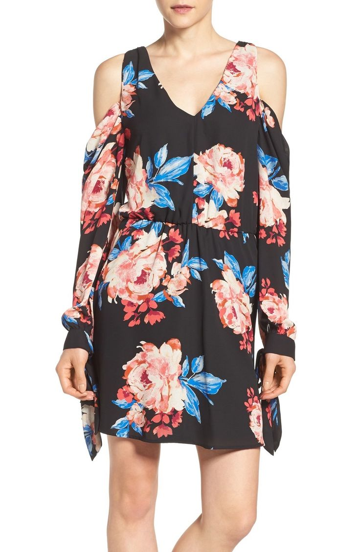 Charles Henry Blouson Minidress available at #Nordstrom